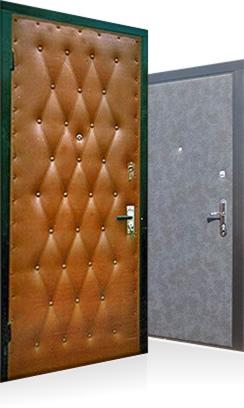 двери входные дутые