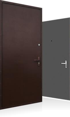 сколько стоит металлическая дверь типа подвального