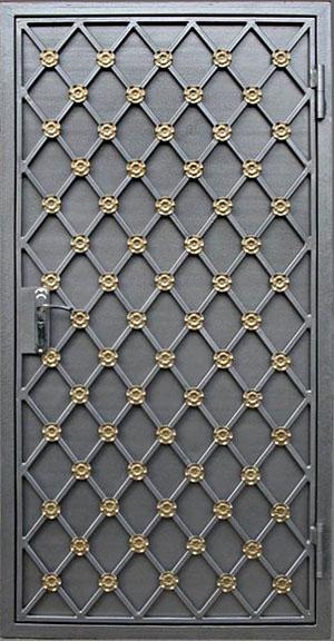 элементы декора на металлическую дверь