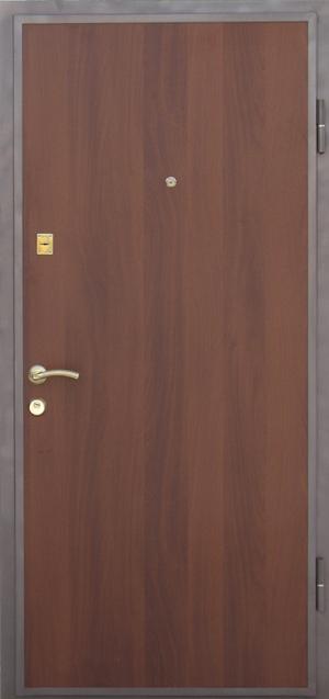 железные двери из ламината
