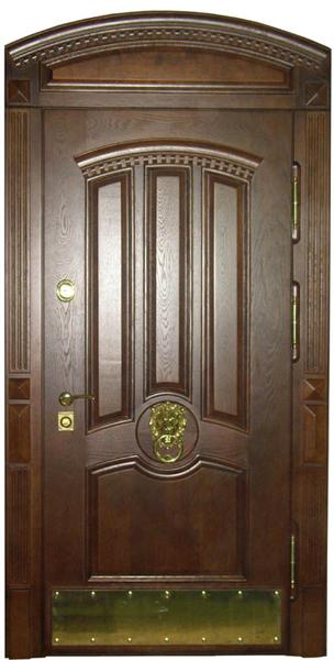 элитные арочные металлические двери