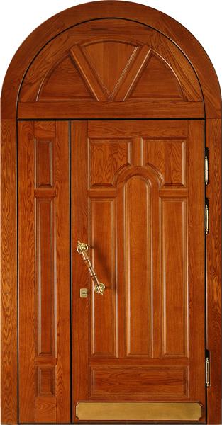 массивная железная дверь