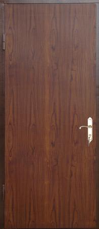 металлическая входная дверь с пленкой пвх под дерево