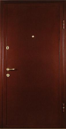 металлические двери с порошковым напылением антик черный