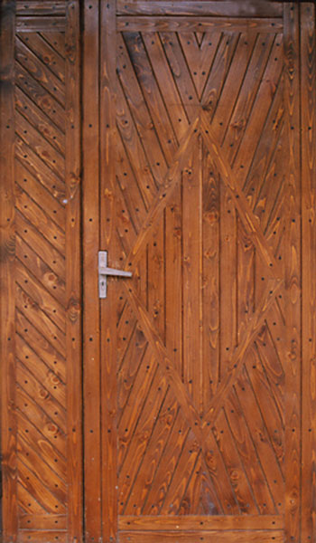 Отделка железной двери своими руками 95