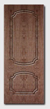 входные металлические двери:отделка МДФ