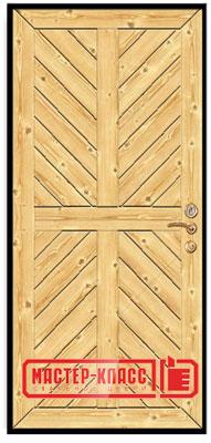 Межкомнатная дверь из вагонки своими руками 96